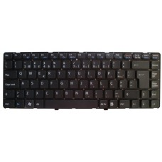Teclado Sony VAIO VGNNW | VGN-NW | VGN-NW21EF | VGN-NW21MF | VGN-NW21SF - Preto