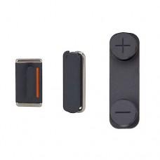 Set de Botões (ON/OFF, Volume e Silencio) iPhone 5S Preto