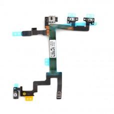 Flex Cable de Sensor de Proximidade, Botões de Volume e Botão ON/OFF iPhone 5