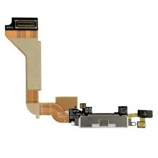 Flex Cable com Conector de Carga e Assessórios iPhone 4S Branco
