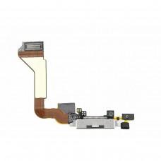 Flex Cable com Conector de Carga e Assessórios iPhone 4S Preto