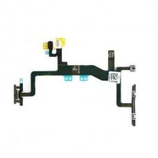 Flex Cable de Sensor de Luz (flash), Botão ON/OFF, Botões de Volume, Botão de Silêncio e Microfone para iPhone 6S