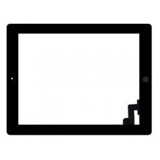 Touchscreen Apple iPad 2 A1395 (Wi-Fi); A1396 (modelo GSM); A1397 (modelo CDMA) c/ Botão Home - Preto