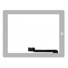 Touchscreen Apple iPad 3 A1416 (Wi-Fi); A1430 (Wi-Fi + Cellular); A1403 (Wi-Fi + Cellular (VZ)) c/ Botão Home - Branco