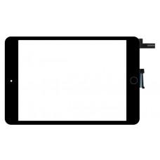 Touchscreen Apple iPad Mini 4 A1538; A1550 (Wi-Fi + Cellular) Sem Botão Home - Preto